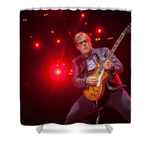 Twisted Sister - Jay Jay French Shower Curtain