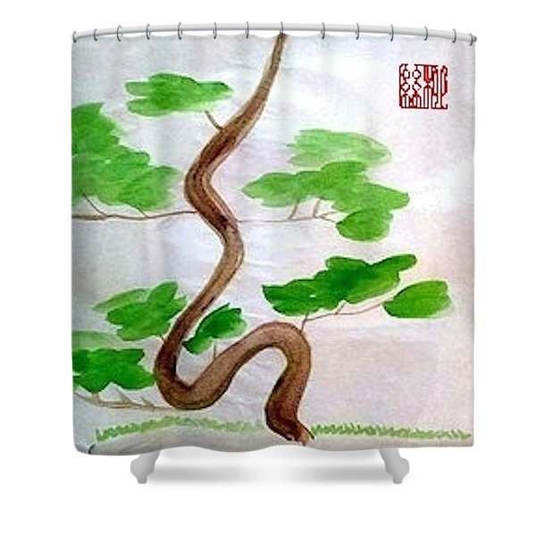 Twists And Turns Of Life Shower Curtain