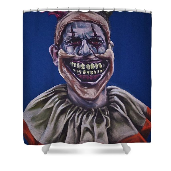 Twisty The Clown  Shower Curtain