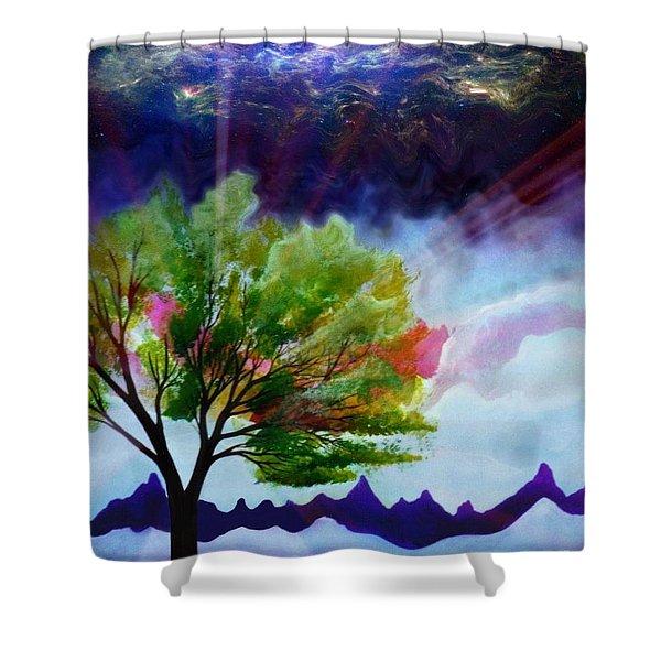 Twlight Shower Curtain