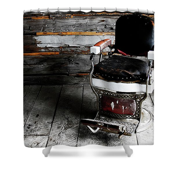 Two Bits Shower Curtain
