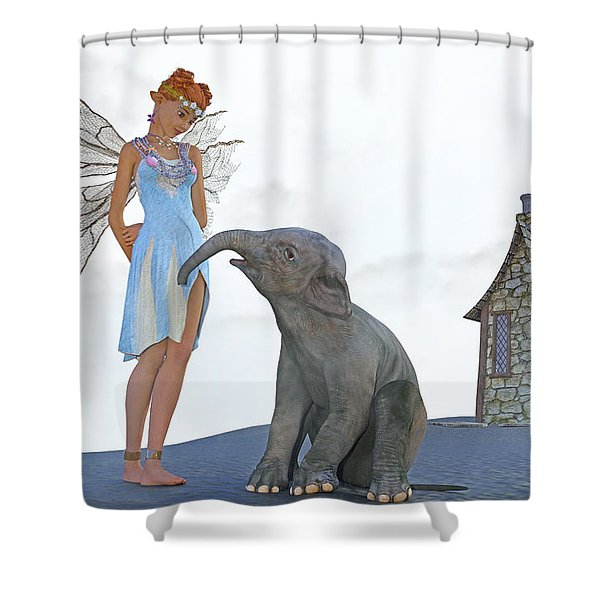 Two Friends Shower Curtain