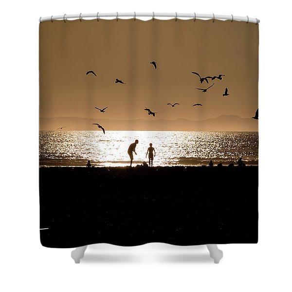 Two In Sun Shower Curtain