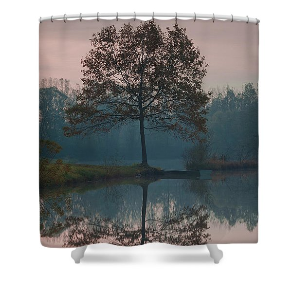Two Loners Shower Curtain