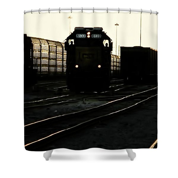 Two Men And 6132 Shower Curtain
