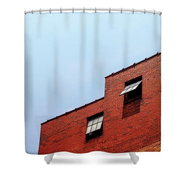 Two Open Windows- Nashville Photography By Linda Woods Shower Curtain