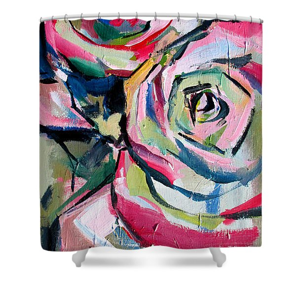 Two Roses Shower Curtain
