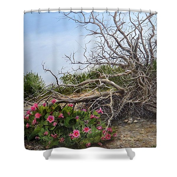 Two Stories Shower Curtain