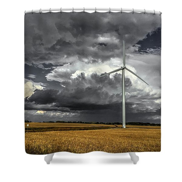 Two Tone Shower Curtain