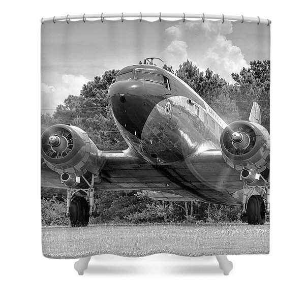 Two Turning Shower Curtain