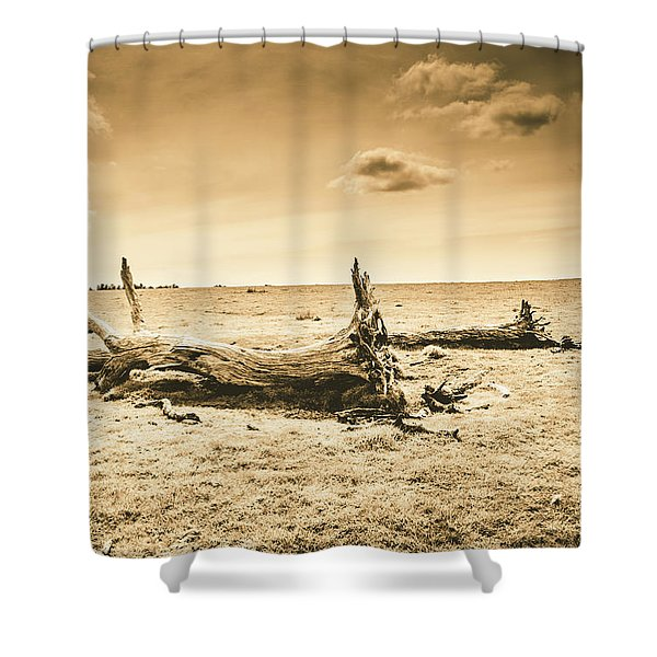 Typical Tasmania Shower Curtain
