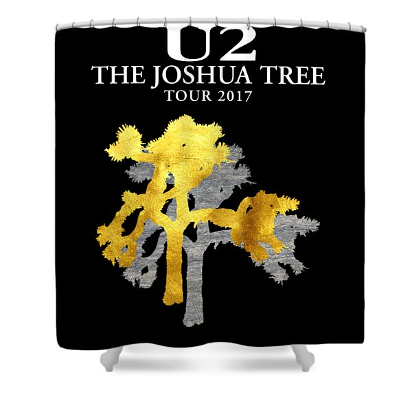U2 Joshua Tree Shower Curtain