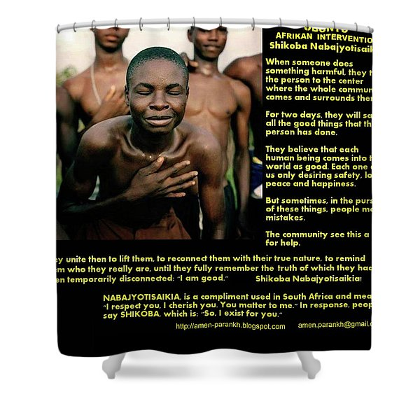 Ubuntu Shower Curtain
