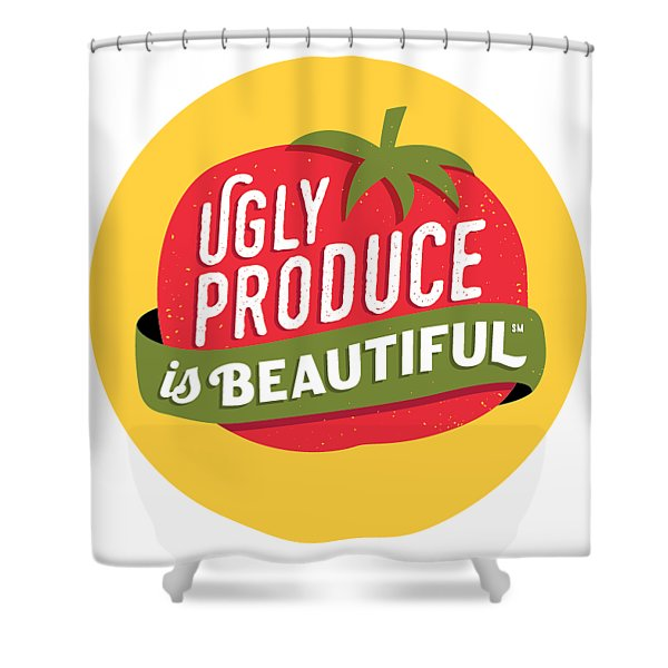 Ugly Produce Is Beautiful Shower Curtain