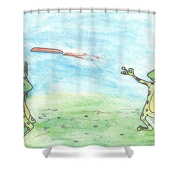 Ultimate Froggie Shower Curtain