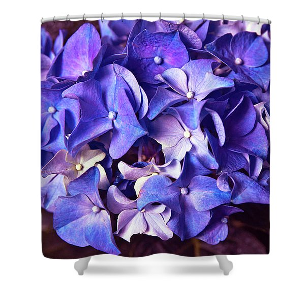 Ultra Violet Dance Shower Curtain
