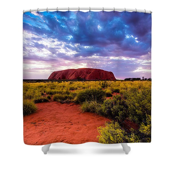 Uluru Shower Curtain