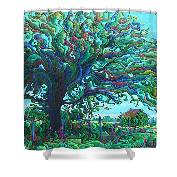 Umbroaken Stillness Shower Curtain