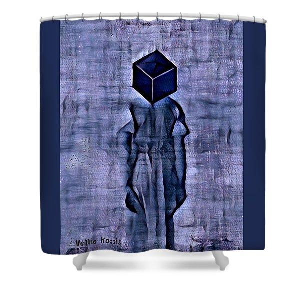 Unacknowledged Shower Curtain