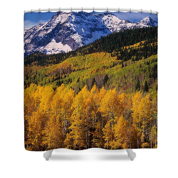 Uncompahgre National Forest Co Usa Shower Curtain