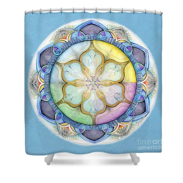 Unconditional Mandala Shower Curtain