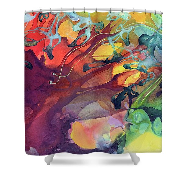 Uncontrolled Shower Curtain