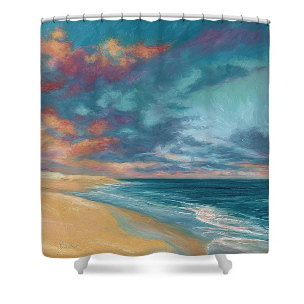 Under A Painted Sky Shower Curtain