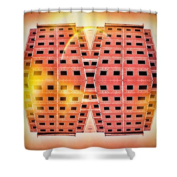 Under Construction Shower Curtain