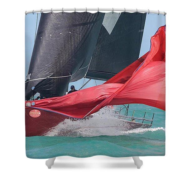 Under Sail Shower Curtain