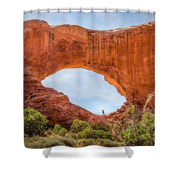Under The Arch Shower Curtain