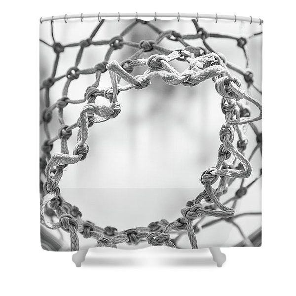 Under The Net Shower Curtain