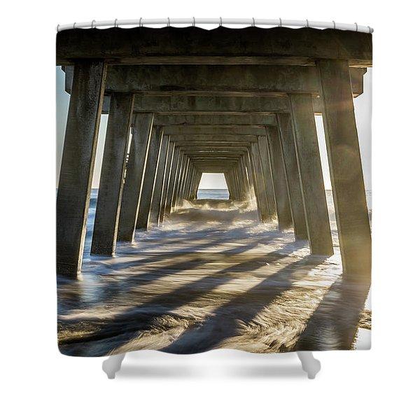 Under The Pier #2 Shower Curtain