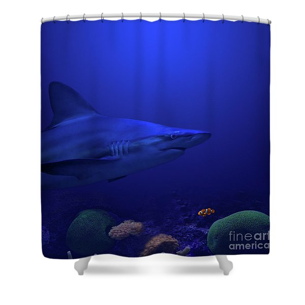 Shower Curtain featuring the photograph Under The Sea by Andrea Silies