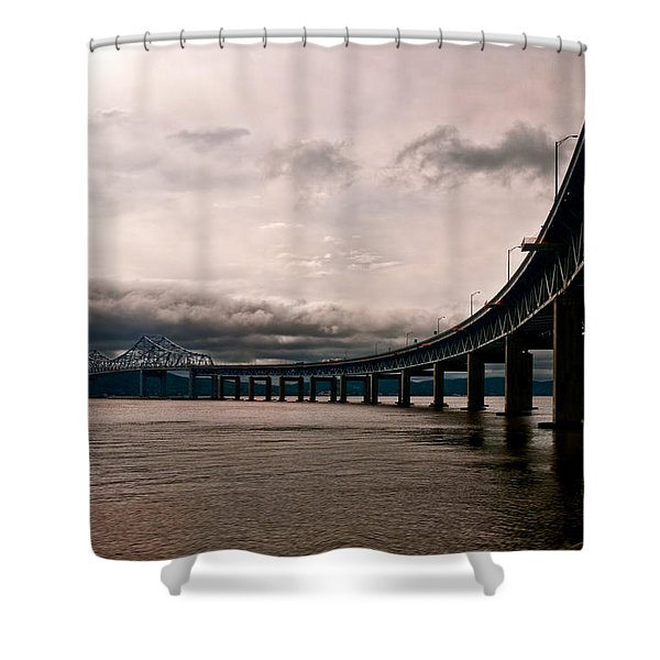 Under The Tappan Zee Shower Curtain