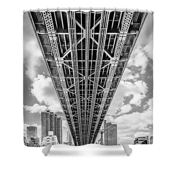Underneath The Queensboro Bridge Shower Curtain