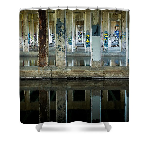 Underpass Shower Curtain