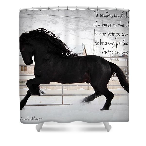 Understand The Soul Of A Horse Shower Curtain