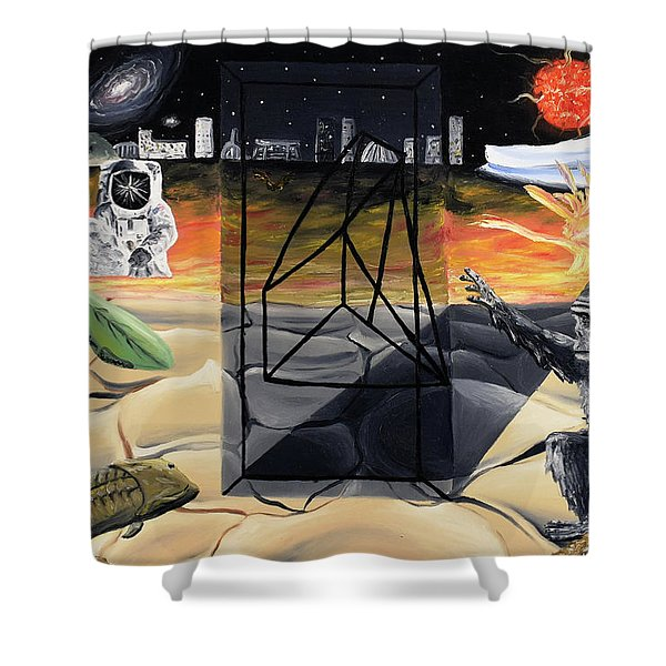 Understanding Time Shower Curtain