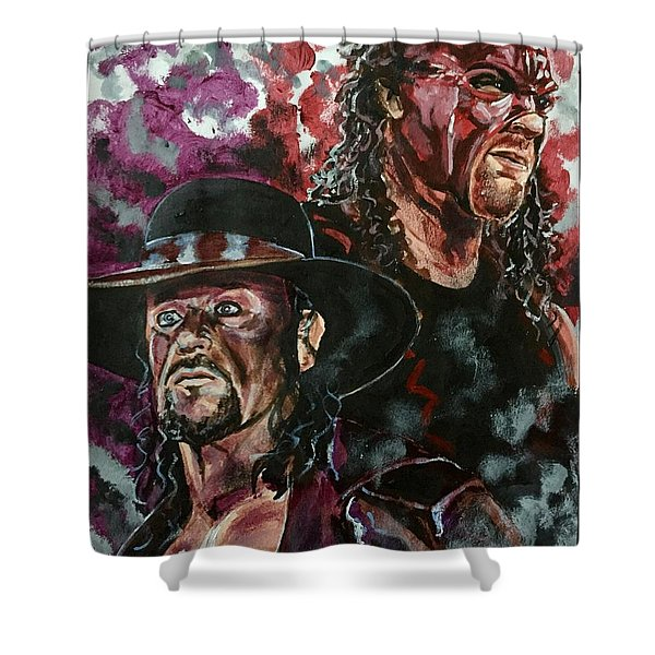 Undertaker And Kane Shower Curtain