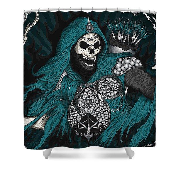 Underworld Archer Of Death Shower Curtain