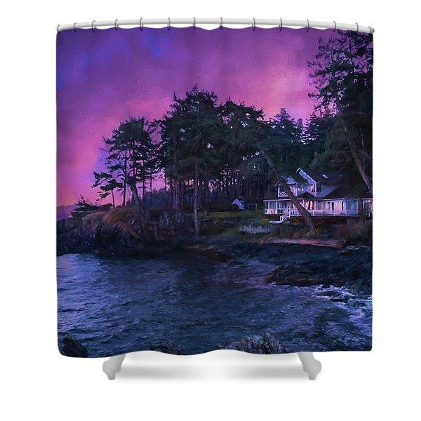 Undreamed Shores - Chesapeake Art Shower Curtain
