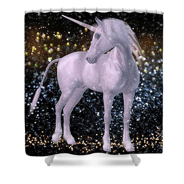 Unicorn Dust Shower Curtain