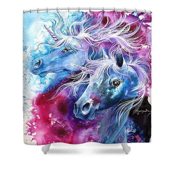 Unicorn Magic Shower Curtain