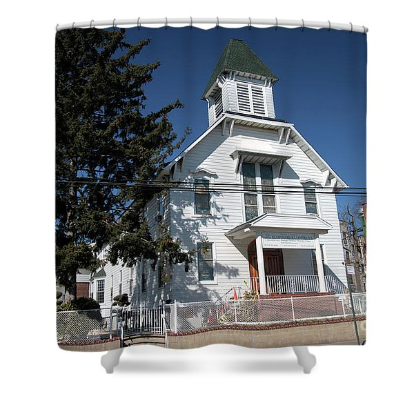 Union Evangelical Church Of Corona Shower Curtain