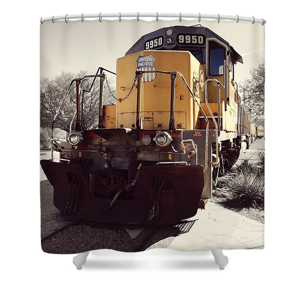 Union Pacific No. 9950 Shower Curtain
