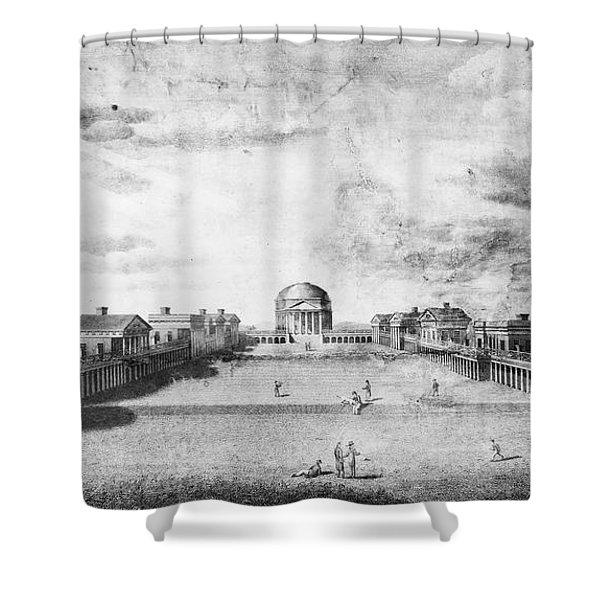 University Of Virginia Shower Curtain