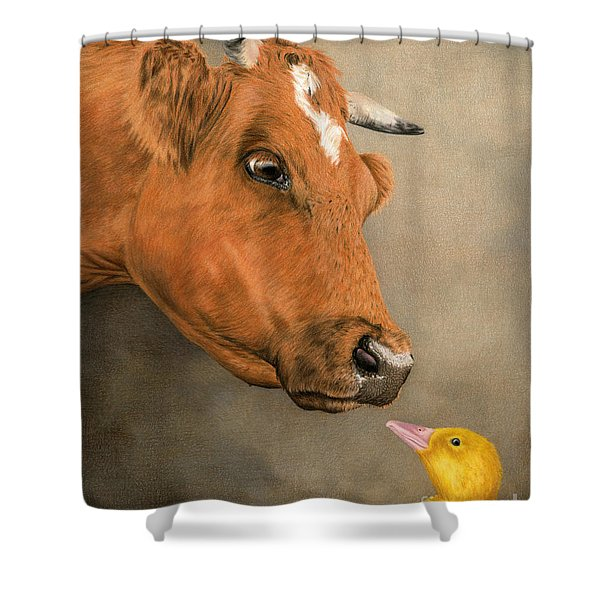 Friends Come In All Sizes Shower Curtain