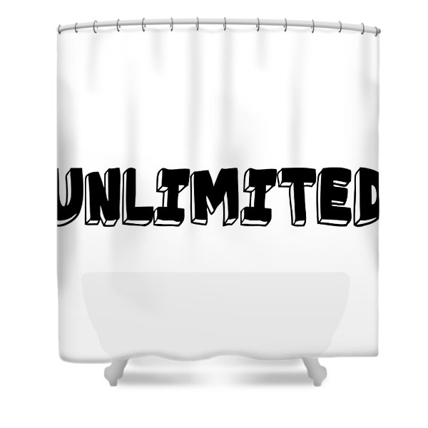 Unlimted Shower Curtain