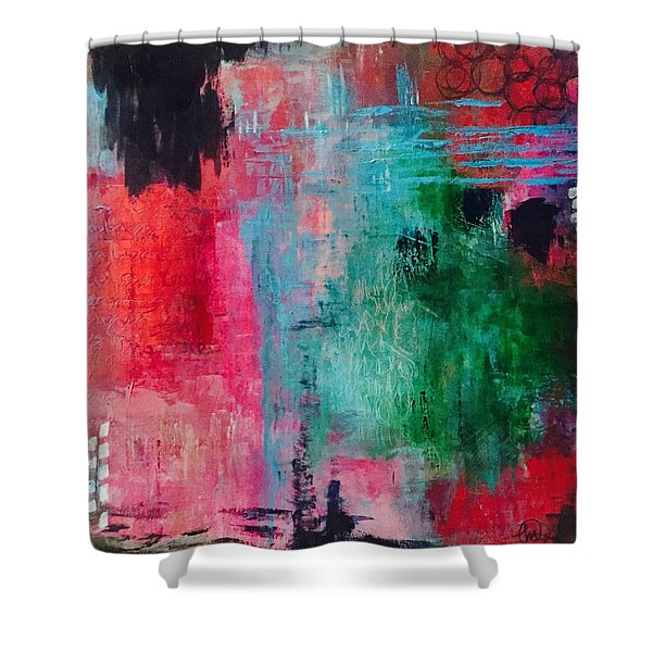 Unresolved Feelings Shower Curtain