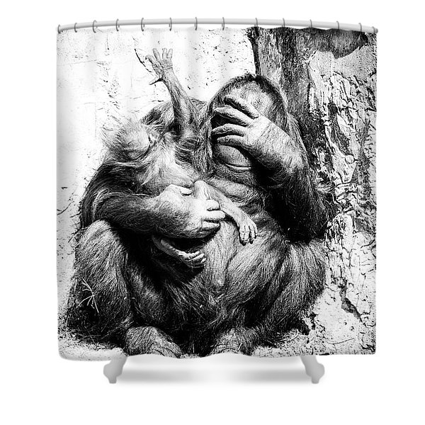 Unruly Shower Curtain